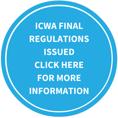 ICWA final regs button
