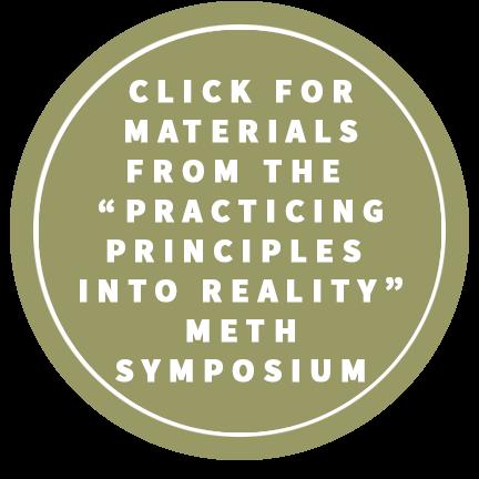 meth symposium follow up button