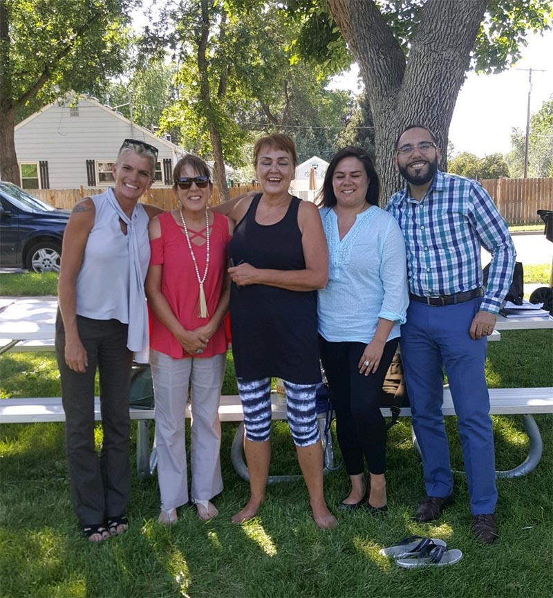 Members of TRAC and SAMHSA in Billings, Montana