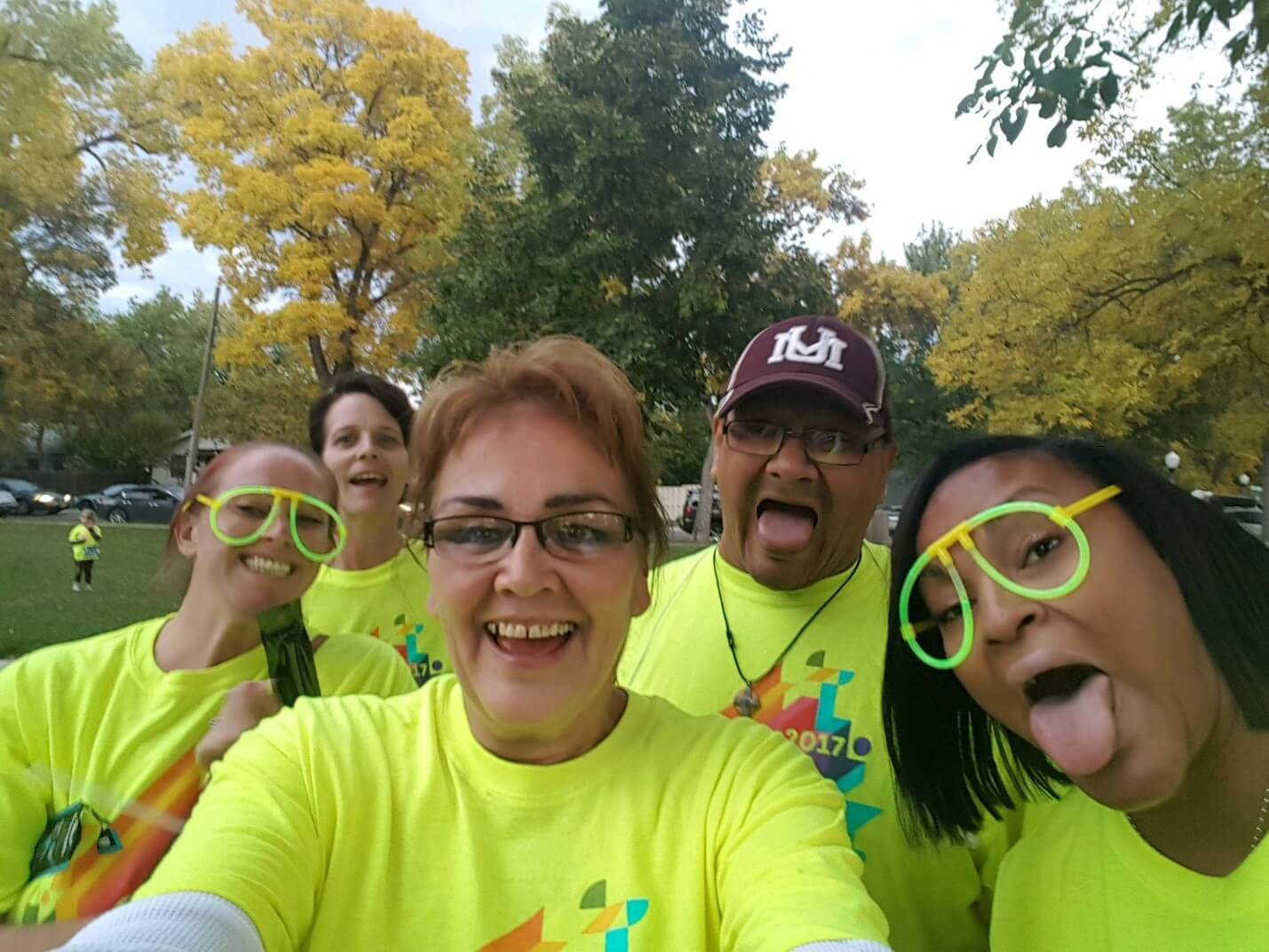 Glow Run in Billings, Montana